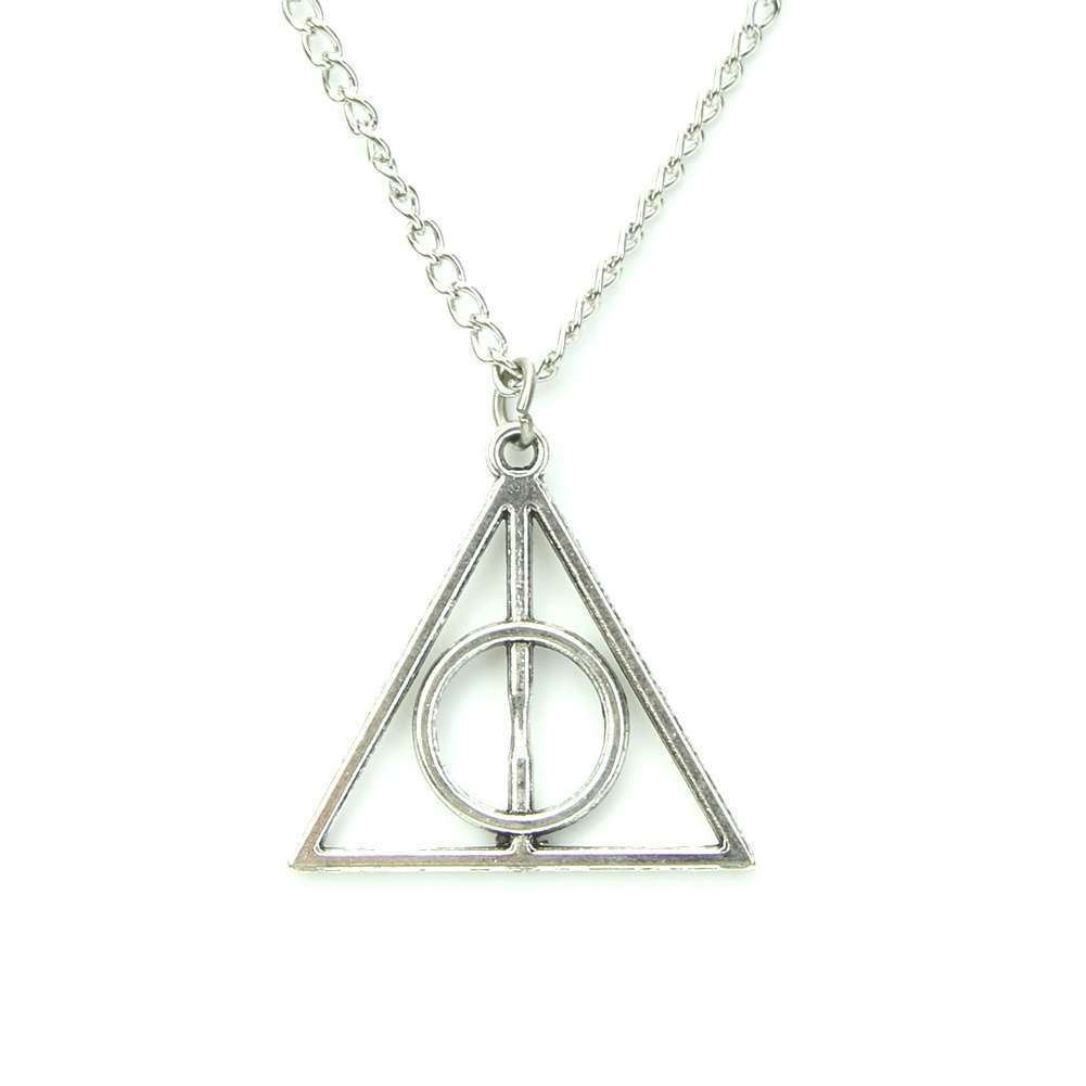 Film Movie Harry Potter-Deathly Hallows Metal Necklace Pendant As Gifts-4