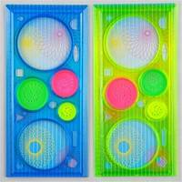 Kar2-1Pc Spirograph Geometric Ruler Stationery Student Drawing Toys Set