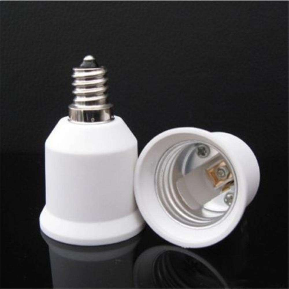 Base E12 To E27 Converter Adapter Socket LED Lamp Bulb Light-1