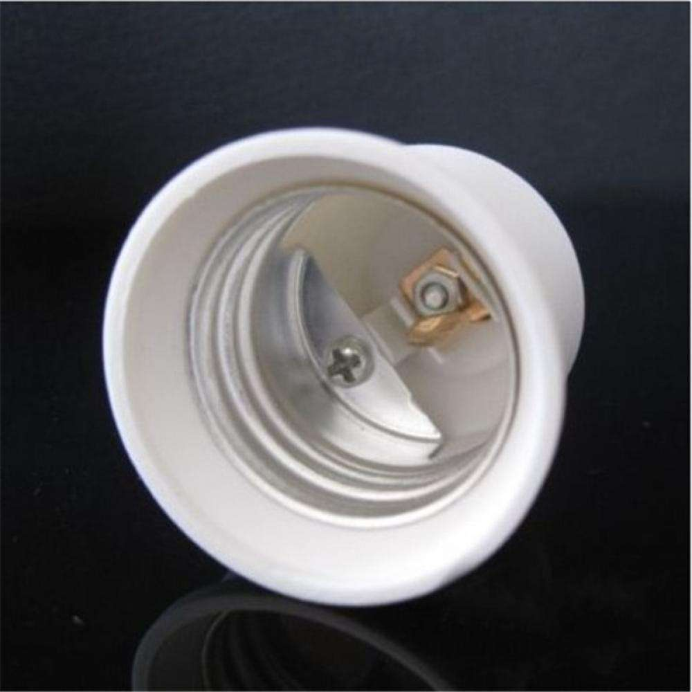 Base E12 To E27 Converter Adapter Socket LED Lamp Bulb Light-2