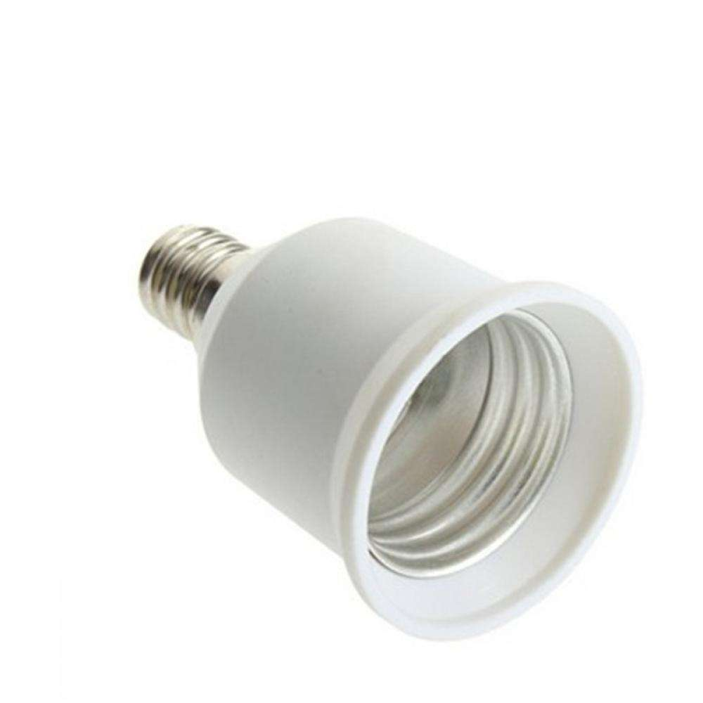 Base E12 To E27 Converter Adapter Socket LED Lamp Bulb Light-3