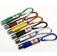 LydR-3 In1 Multi Function Mini Laser Light Pointer LED Torch Flashlight Key Chain