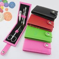 NH8V-4 In 1 Kit Nail Clippers Manicure Set Nail Tools Sets PVC And High Carbon Steel