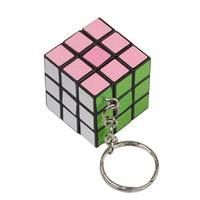 OW98-Mini Toy Key Ring Magic Cube Game Puzzle Key Chain Carrying