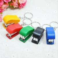 Omib-1PC Portable Keychain Mini Cute Stapler For Home Office School Paper Bookbinding We Won't Let You Down (Size: 2)