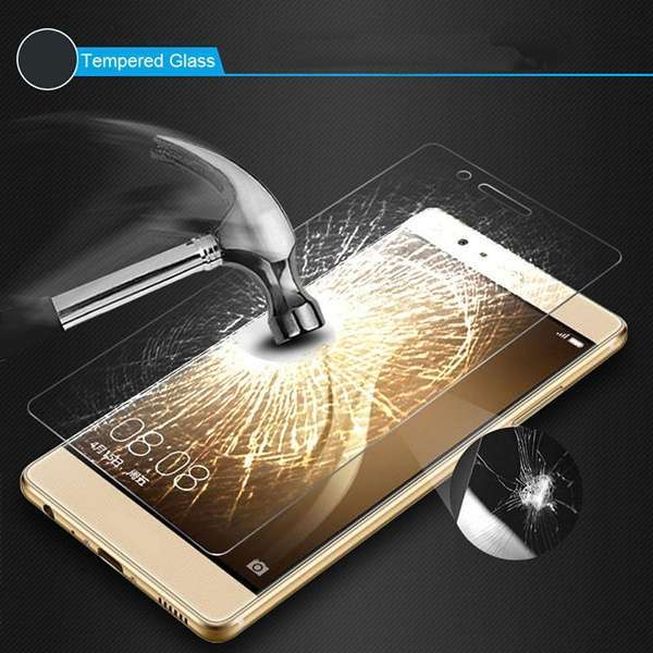 Shockproof 9H Tempered Glass Screen Protector Premium 2.5D For Huawei Ascend P9 Lite