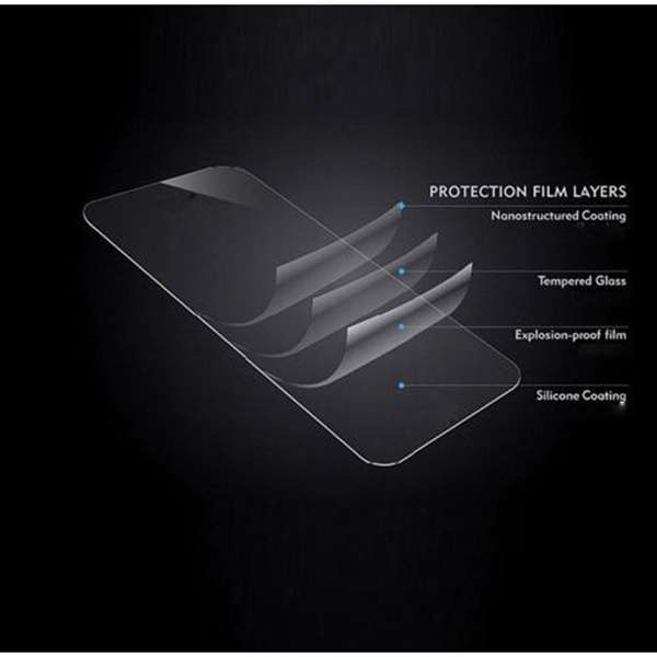 Shockproof 9H Tempered Glass Screen Protector Premium 2.5D For Huawei Ascend P9 Lite-1
