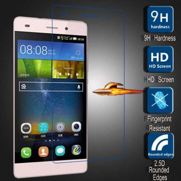 Shockproof 9H Tempered Glass Screen Protector Premium 2.5D For Huawei Ascend P9 Lite-5