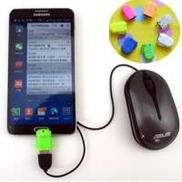 PCei-Micro Usb To USB OTG Adapter For Samsung Galaxy S2/S3/S4 For Smartphone Tablet Pc To Flash/mouse/keyboard