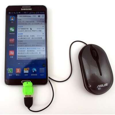 Micro usb to USB OTG adapter for Samsung Galaxy S2/S3/S4 for smartphone tablet pc to flash/mouse/keyboard-3