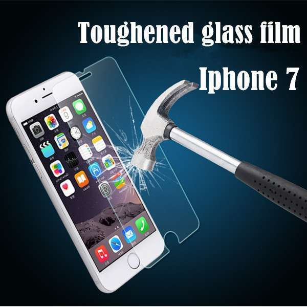Iphone7 Tempered Glass Screen Protector, Ebestsale Premium 2.5D Round Edge 9H Hardness 0.3mm Thickness HD Clear Ballistic Film