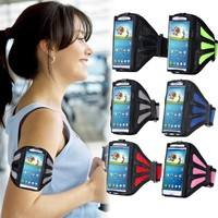 PP75-Fashion Net Meshing Breathing Sport Armband Bag Case