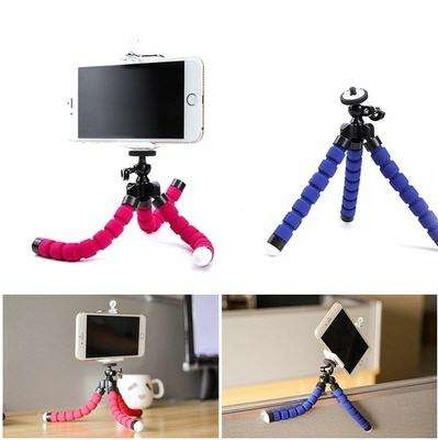 Portable Tripod Holder for Smartphone Digital Camera Octopus Stand Mount Phone Holder