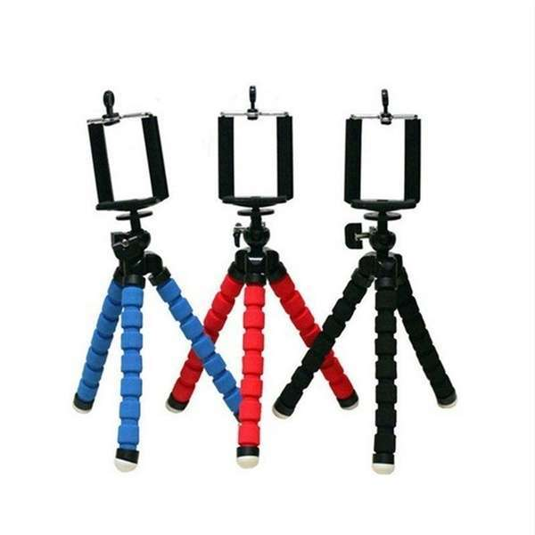 Portable Tripod Holder for Smartphone Digital Camera Octopus Stand Mount Phone Holder-1