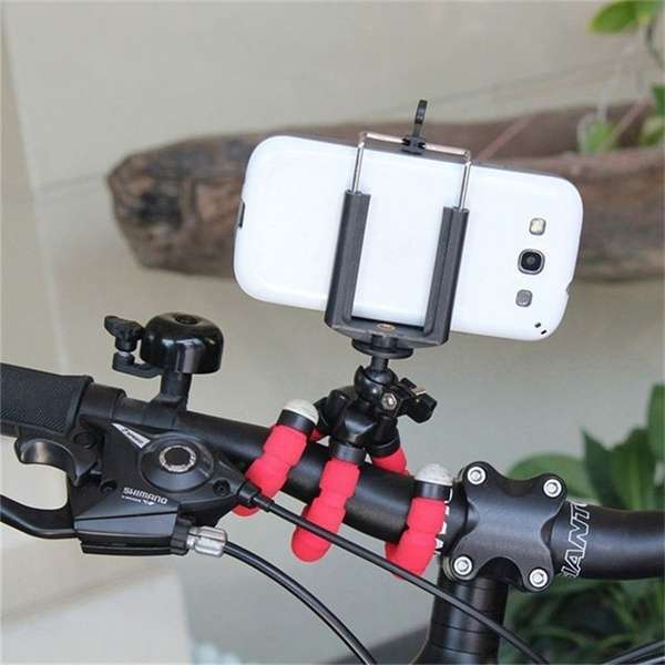 Portable Tripod Holder for Smartphone Digital Camera Octopus Stand Mount Phone Holder-3