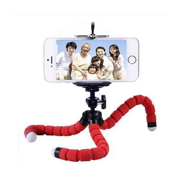 Portable Tripod Holder for Smartphone Digital Camera Octopus Stand Mount Phone Holder-4