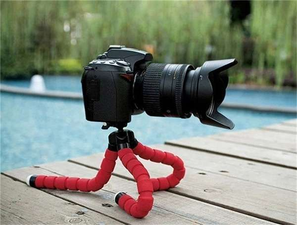 Portable Tripod Holder for Smartphone Digital Camera Octopus Stand Mount Phone Holder-6