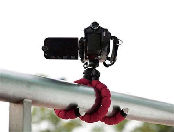 Portable Tripod Holder for Smartphone Digital Camera Octopus Stand Mount Phone Holder-7