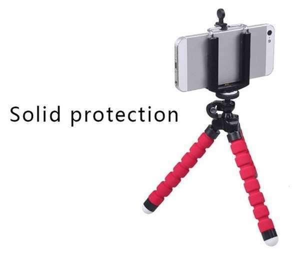 Portable Tripod Holder for Smartphone Digital Camera Octopus Stand Mount Phone Holder-9