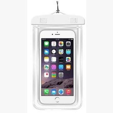 Transparent PVC Luminous Waterproof Phone Case Cover for iphone 3 4 4s 5 5s 5C 6 Water Proof Underwater Bag for Phone6 All mobile Phone-6
