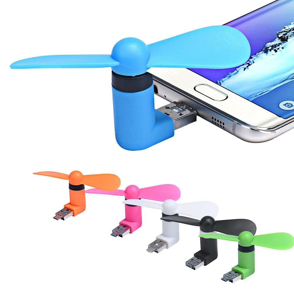 Portable Super Min USB Cooler Cooling Mini Fan for Smart Phone