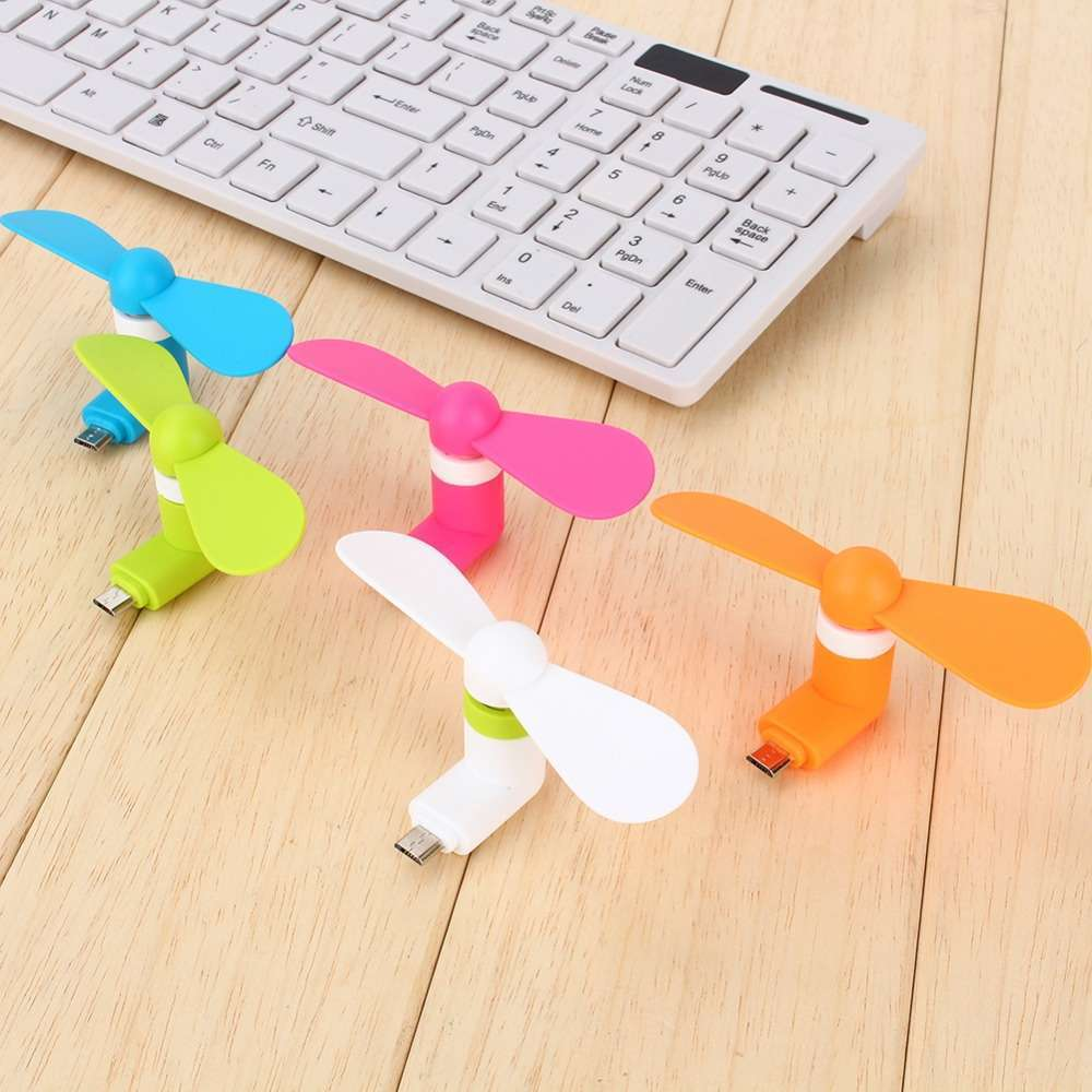 Portable Super Min USB Cooler Cooling Mini Fan for Smart Phone-10