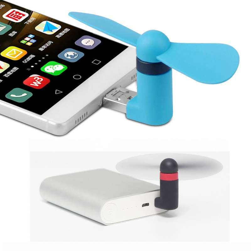 Portable Super Min USB Cooler Cooling Mini Fan for Smart Phone-6