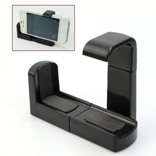Cell Phone Bracket Adapter Mount Holder For Tripod iPhone Samsung-3