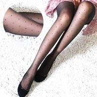 SNkX-Sexy Cite Sheer Lace Small Dot Pantyhose Socks Stockings Tights Leggings Slim