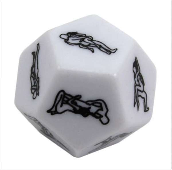Sex Funny Adult Love Humor Gambling Sexy Romance Erotic Craps Dice Pipe Toy-2