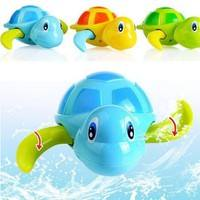 T4cw-Infants Babies Cute Swim Turtle Toys Small Animal Bath Toy Classic Toys