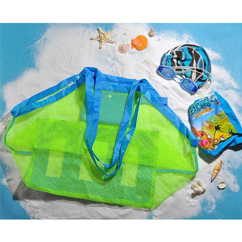 Baby Children Beach Mesh Bag Children Beach Toys Clothes Towel Bag Baby Toy Collection-2
