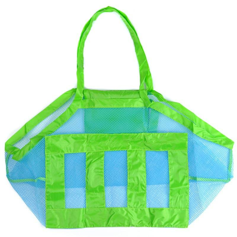 Baby Children Beach Mesh Bag Children Beach Toys Clothes Towel Bag Baby Toy Collection-3