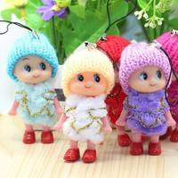 TB4M-Creative Gifts Cute Doll Plush Doll Hanging Bag