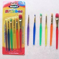 TDj1-Hot Sell 6pcs Color Brushes Children Painting Set Baking Tool