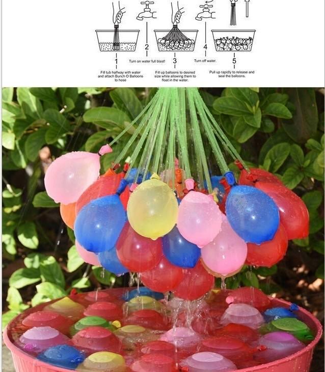 1 set 37 pcs balloon bunch balloons amazing water balloon magic