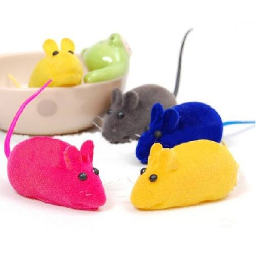 Little Mouse Squeak Noise Sound Rat Playing Toys For Cats Dogs-2