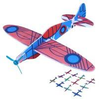TPv9-12 Flying Glider Planes Aeroplane Party Bag Fillers Children S Kids Toys Game