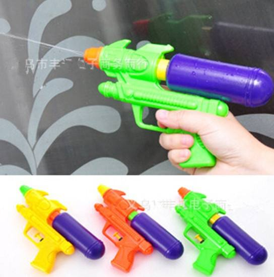 Ramdon Color Kids Summer Water Squirt Toy Children Beach Water Gun Pistol