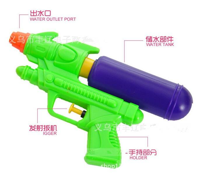 Ramdon Color Kids Summer Water Squirt Toy Children Beach Water Gun Pistol-1