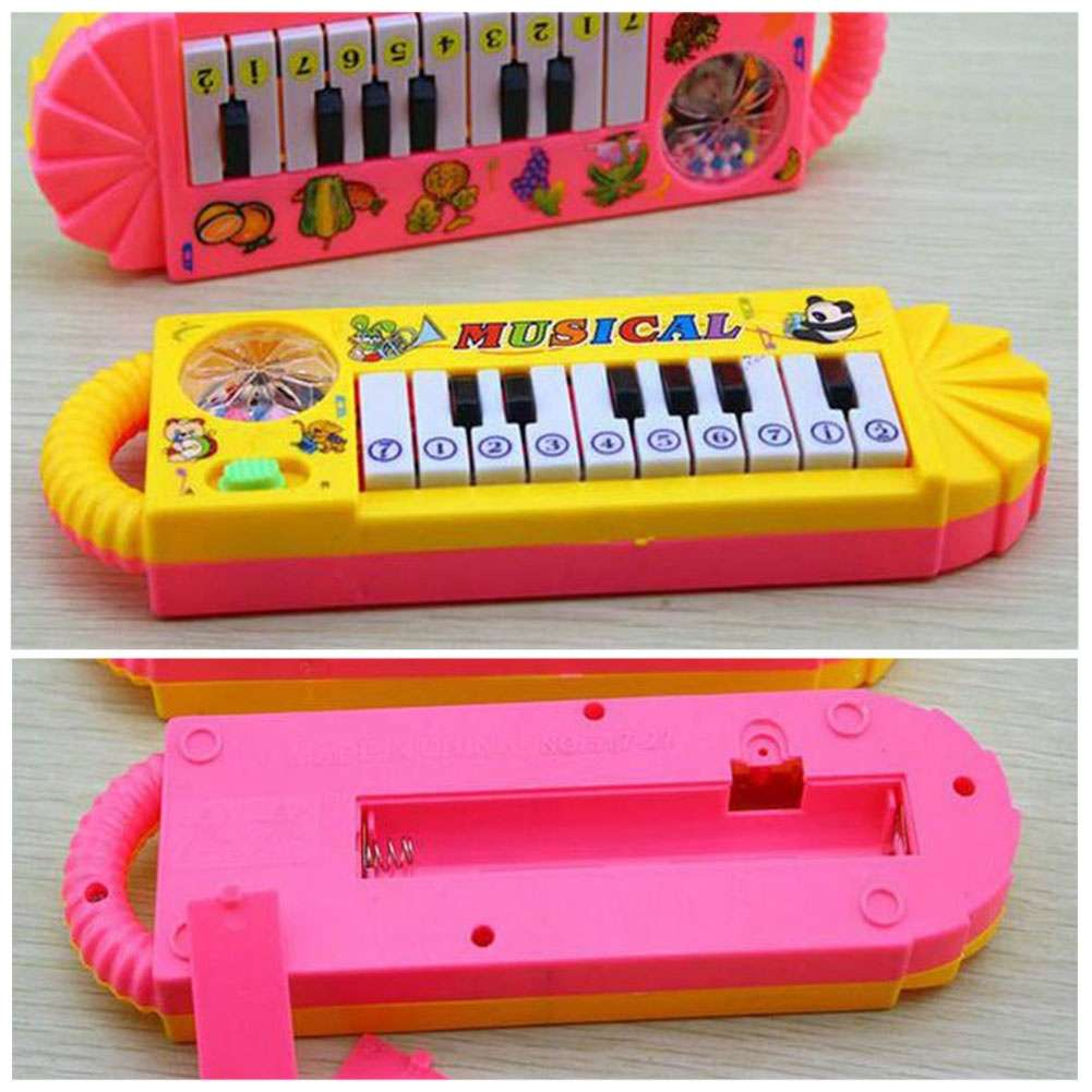 Kids Plastic Baby Electronic Keyboard Piano fit Gift-1