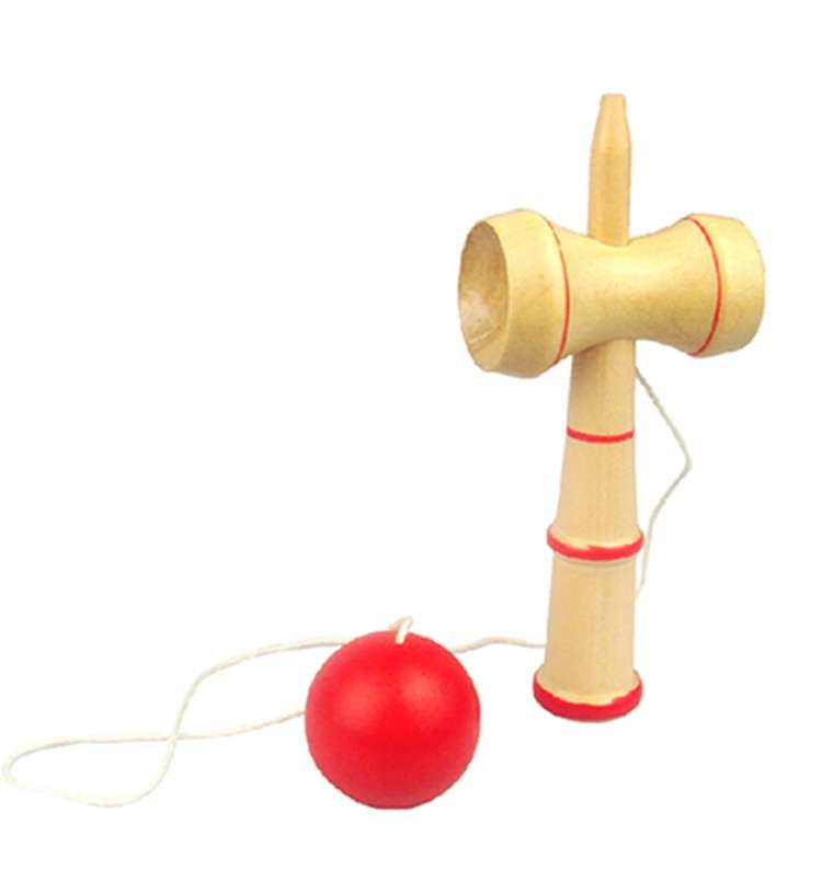 Kid Funny Kendama Ball Japanese Traditional WoJY Game Skill Educational Toy