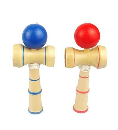 Kid Funny Kendama Ball Japanese Traditional WoJY Game Skill Educational Toy-1