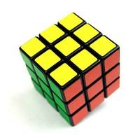 TyPK-3x3x3 Colorful Plastic Magic Cube Classic Puzzle Toy