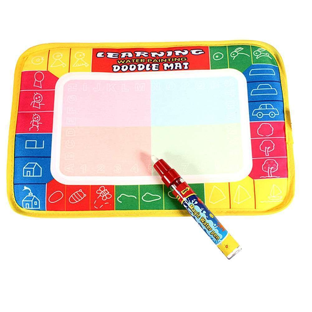 Girl Toy Drawing Water Pen Painting Magic Doodle Aquadoodle Mat Board Kid Boy-2
