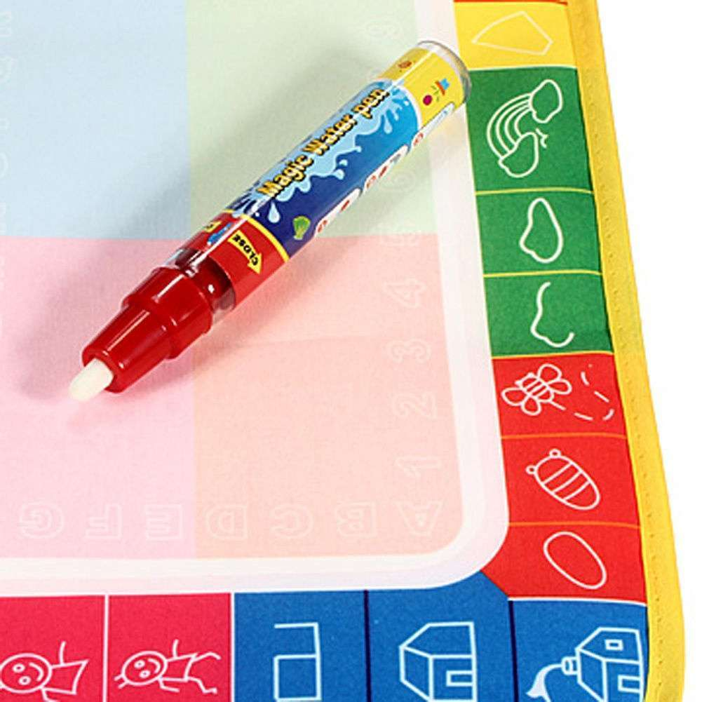 Girl Toy Drawing Water Pen Painting Magic Doodle Aquadoodle Mat Board Kid Boy-5