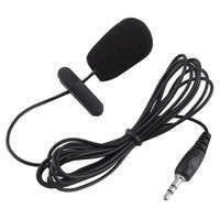 UZ71-3.5mm Mini Studio Speech Mic Microphone W/ Clip For PC Desktop Notebook