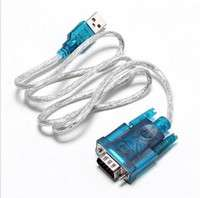 UqgN-USB 2.0 TO SERIAL RS232 DB9 9 PIN ADAPTER CABLE PDA Cord GPS CONVERTER