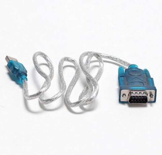 USB 2.0 TO SERIAL RS232 DB9 9 PIN ADAPTER CABLE PDA cord GPS CONVERTER-1