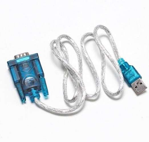 USB 2.0 TO SERIAL RS232 DB9 9 PIN ADAPTER CABLE PDA cord GPS CONVERTER-2